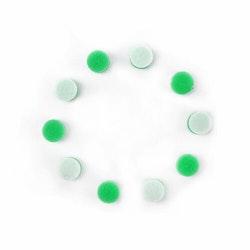 MaxShine Mini Polisher System Accessories Large Green Polishing Pad (10-Pack)