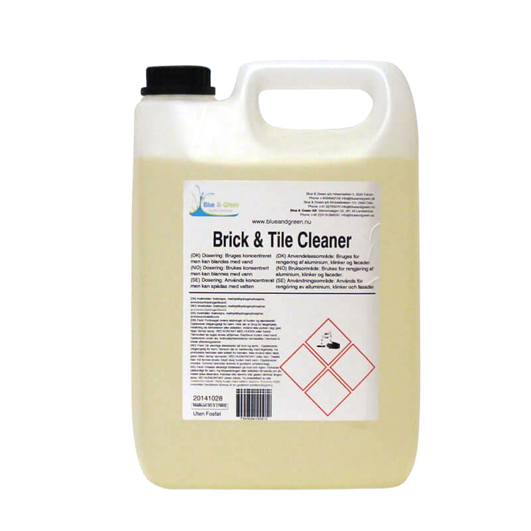 Blue & Green - Brick & Tile Cleaner 5L