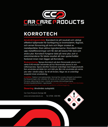 Car Care Products - Korrotech 1L