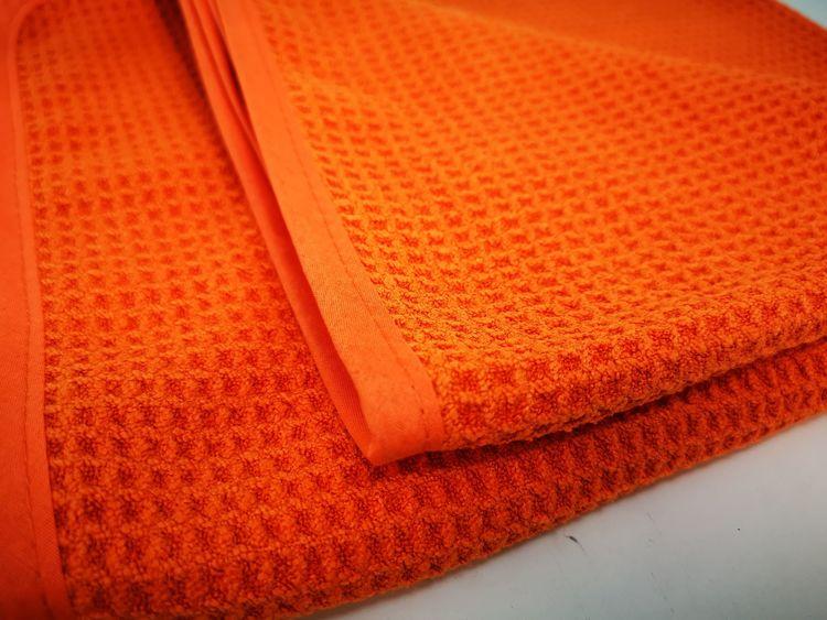 Car Care Products - Orange Våfflad Torkduk 5-Pack