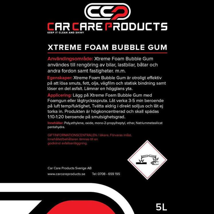 Car Care Products - Foam Gun Paket (Högtryck)