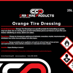 Orange Tire Dressing 25L