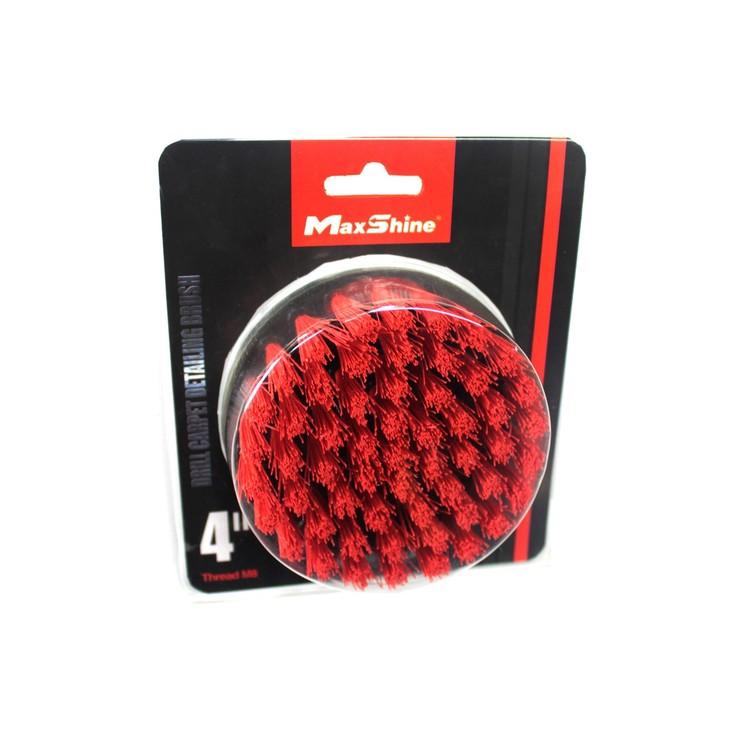 MaxShine - Drill Carpet Brush - 4 Inch/100mm