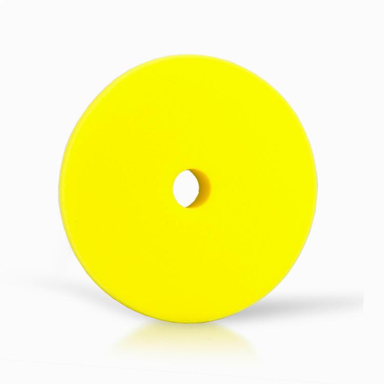"Car Care Products - Yellow Medium Foam Pad 2"""