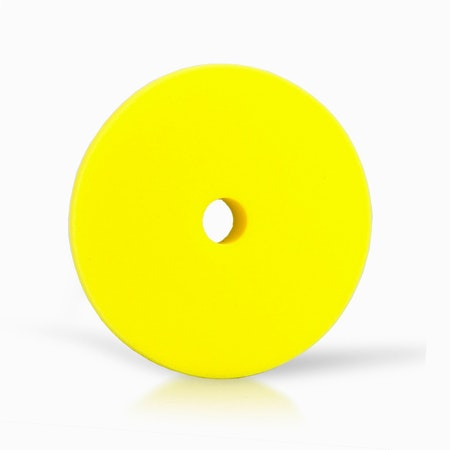 "Car Care Products - Yellow Medium Foam Pad 6"""