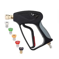 Car Care Products - Kort Spolhandtags-Kit (Snabbkopplingar + Munstycken)