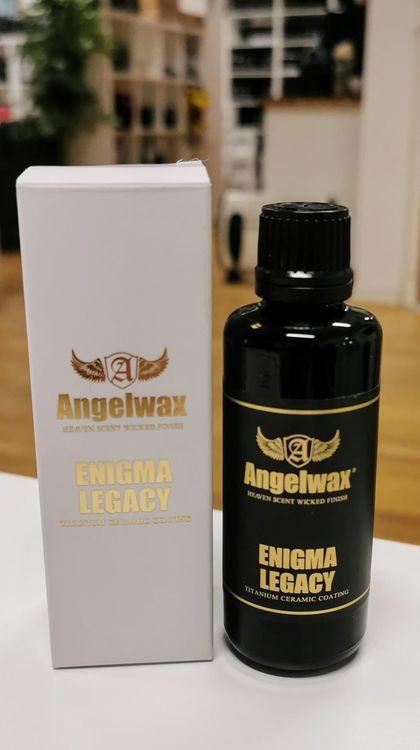 Angelwax - Enigma Legacy Titanium Ceramic Coating,  30ml