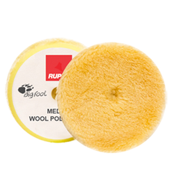 "Rupes - Medium Wool Pad 1,5"" (30/40mm) 4-Pack"