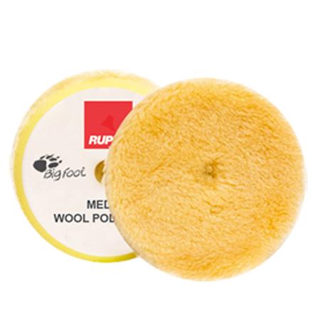 "Rupes - Medium Wool Pad 1"" (30/40mm) 4-Pack"