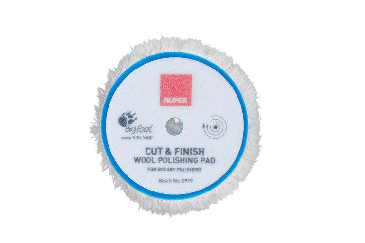 "Rupes - Cut & Finish Rotary Wool Polishing Pad 6"" (150/180mm)"