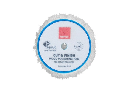 "Rupes - Cut & Finish Rotary Wool Polishing Pad 6"" (150/180mm)"