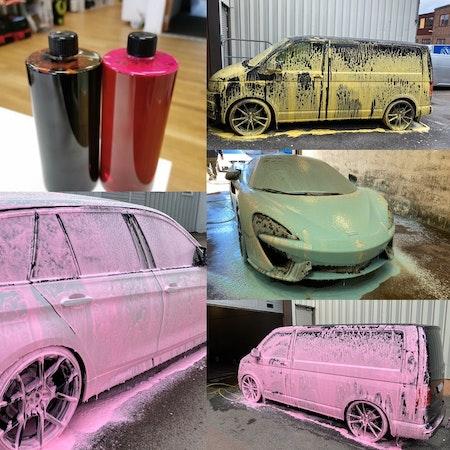 Car Care Products - Colour Foam Schampo 1L
