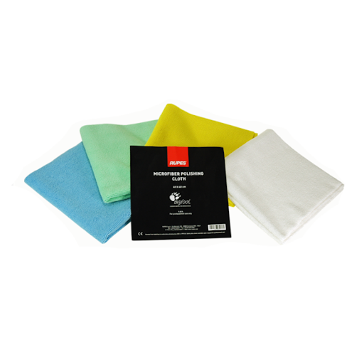 Rupes - Microfiber Polishing Cloths 4-Pack