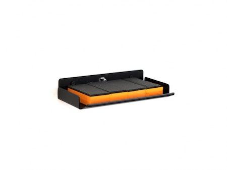 Poka Premium - Shelf for Leather/Upholstery Brushes & Applicators 20cm