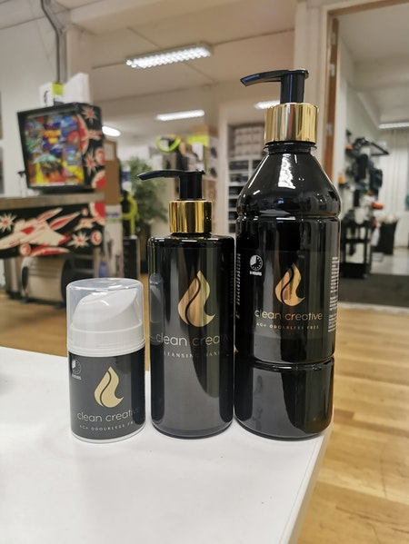 Clean Creative AG+ 500ml  (Handdesinfektion med upp till 8h skydd)