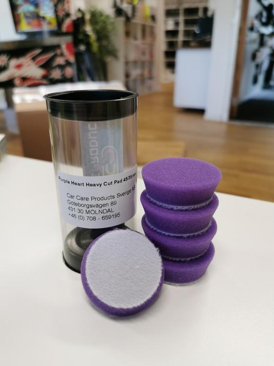 """Purple Heart Heavy Cut Foam Pad 1,5"""" (35/45mm) 5-pack"""