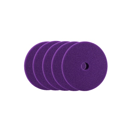 "Car Care Products - Purple Heart Heavy Cut Foam Pad 1,5"" (35/45mm) 5-pack"
