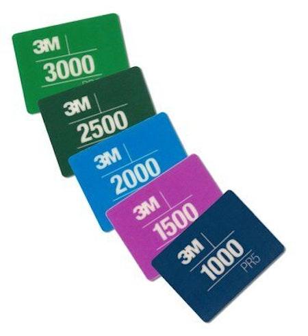 3M -  Paint Defect Removal Card (P1000, P1500, P2000, P2500, P3000)