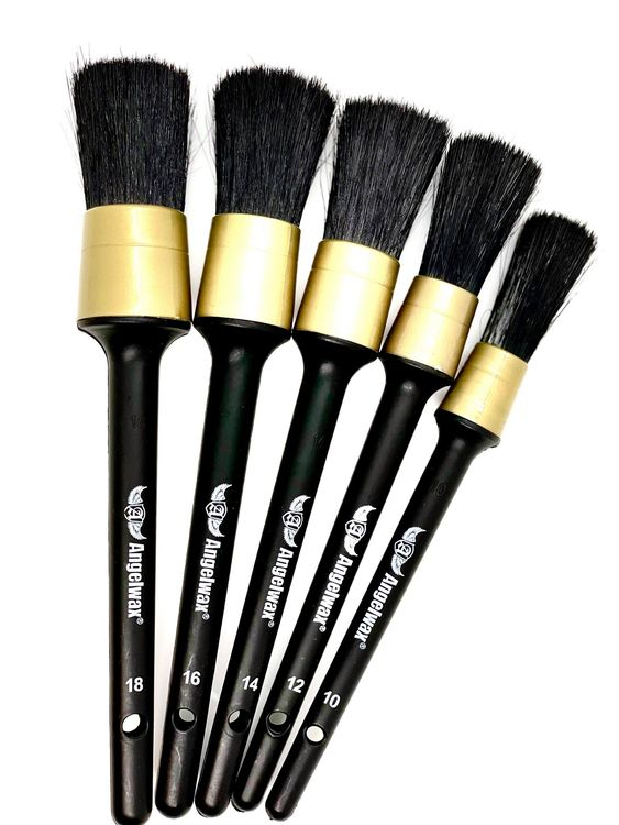 Angelwax Brush-UP! Professional Detailing Brush Set