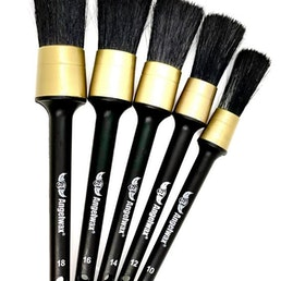 Angelwax Brush UP Professional Detailing Brush Set