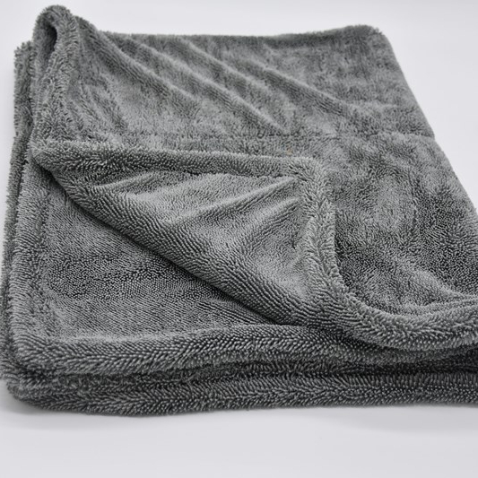 Twisted Pile Double Sided Drying Towel 1400gsm
