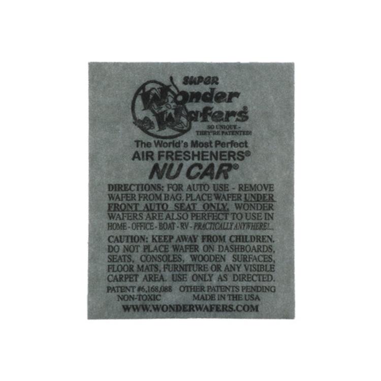 Wonder Wafers Nu Car, Air Fresheners