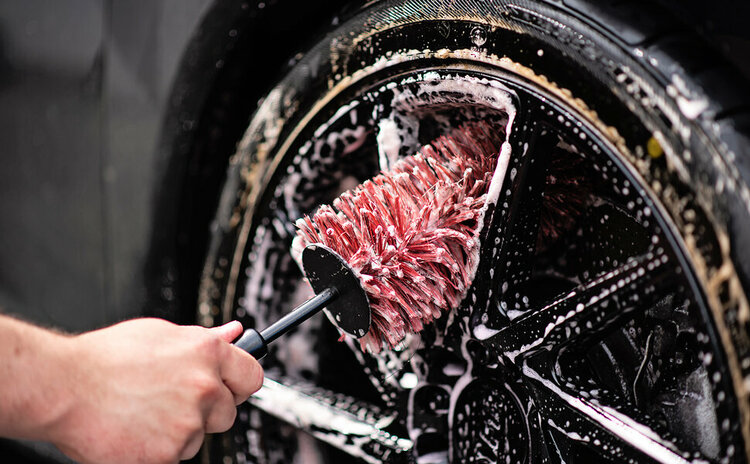 MaxShine Wheel & Rim Brush
