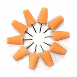 MaxShine Mini Polisher System Accessories Large Orange Polishing Pad (10-Pack)