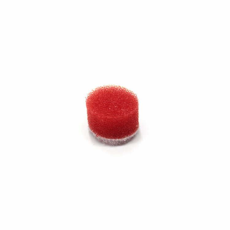 MaxShine Mini Polisher System Accessories Small Red Polishing Pad (10-Pack)