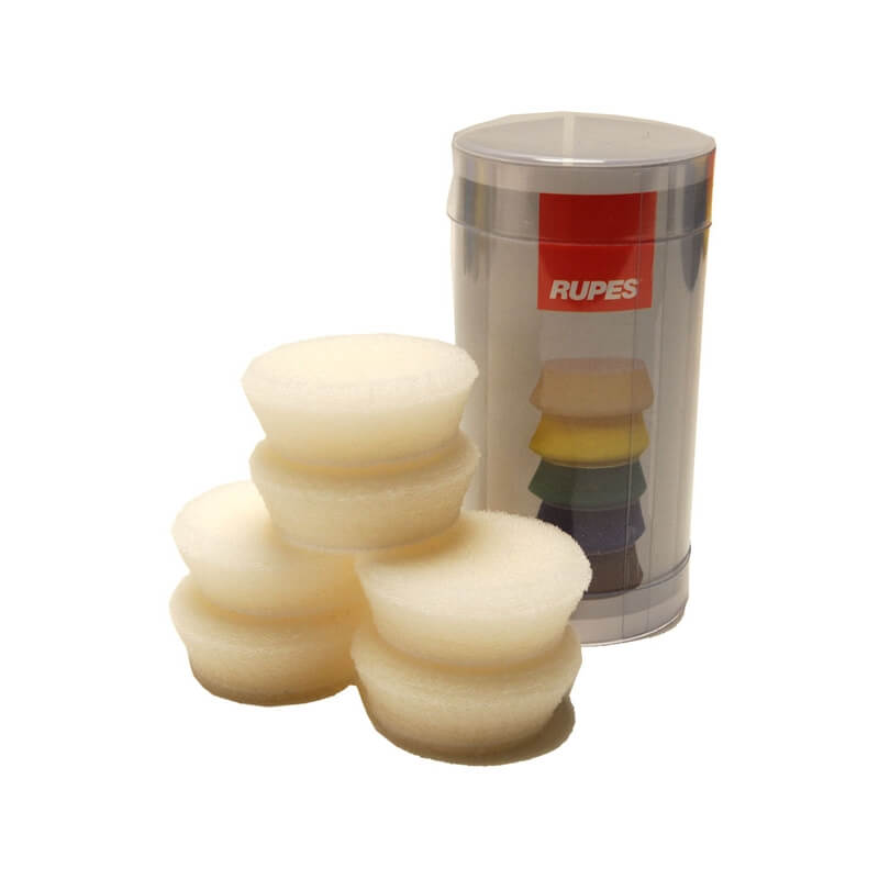"Rupes - White Foam Pad 1"" (34/40mm) 6-pack"