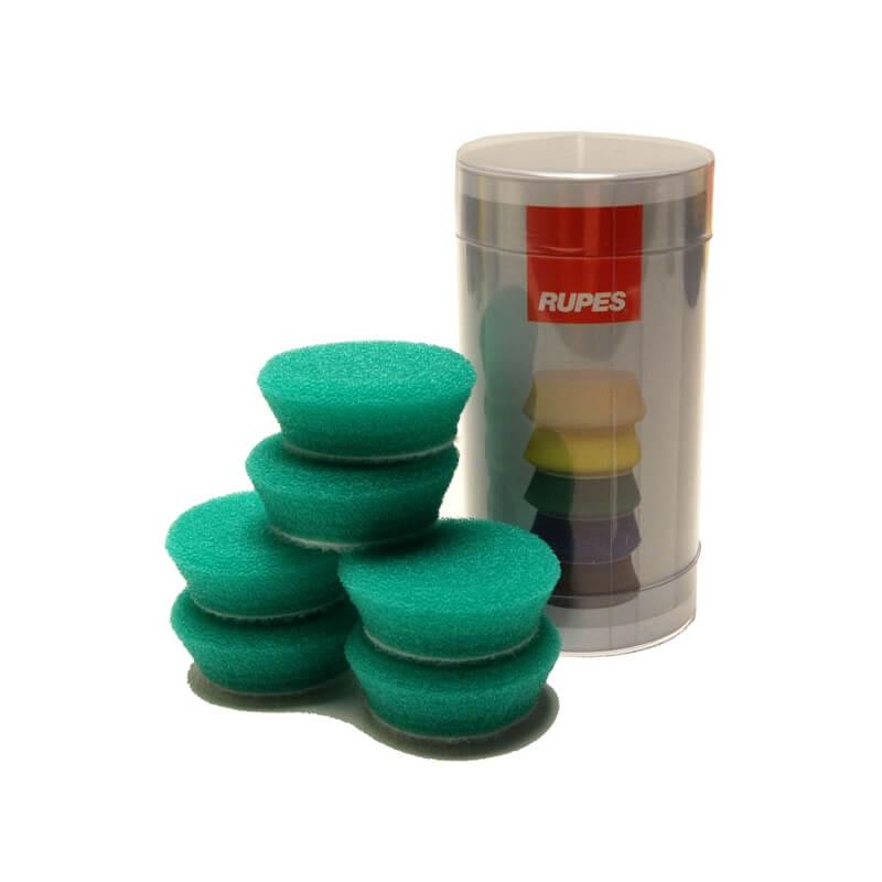 "Rupes - Green Foam Pad 1"" (34/40mm) 6-pack"