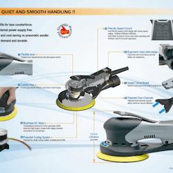 Sumake - ELSC-B60HM (Excenterroterande slipmaskin)