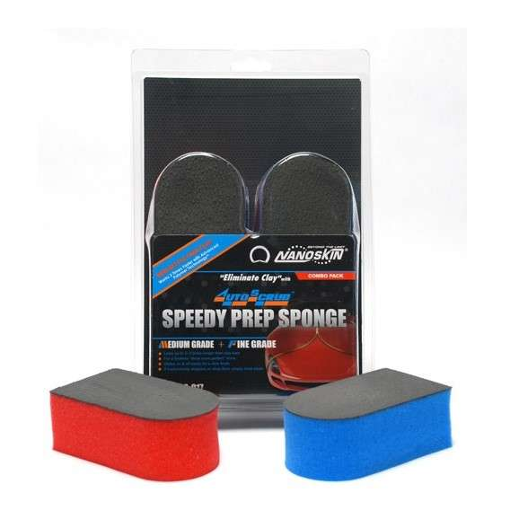 Nanoskin - Autoscrub Speedy Prep Sponge 2-Pack