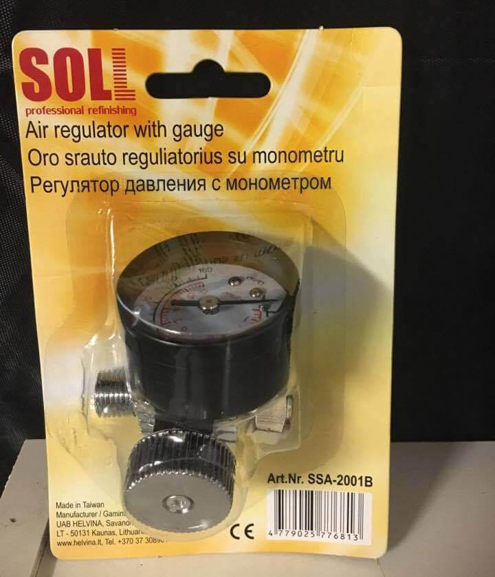 SOLL - Ställbar Manometer