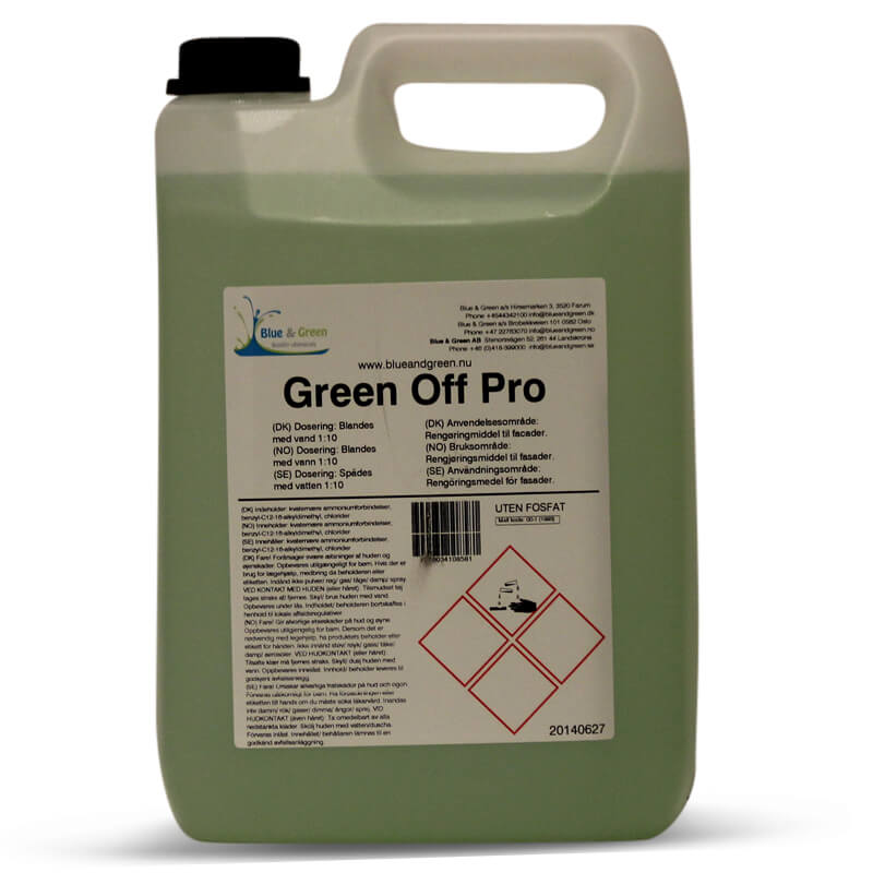 Blue & Green - Green Off Pro 5L