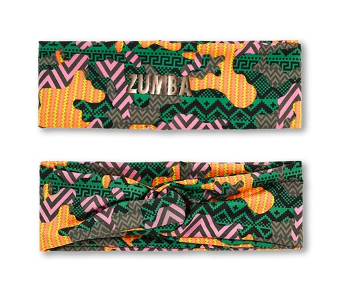 Zumba Dance Tribe Wide Headband