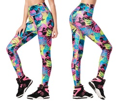 Zumba Classic High Waisted Ankle Leggings