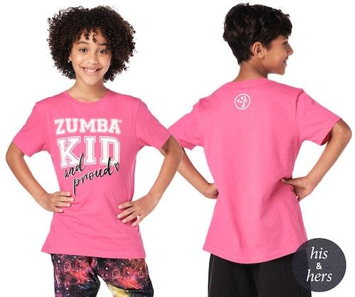 Proud Zumba Kid Tee