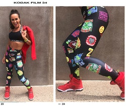 Zumba All Stars High Waisted Ankle Leggings