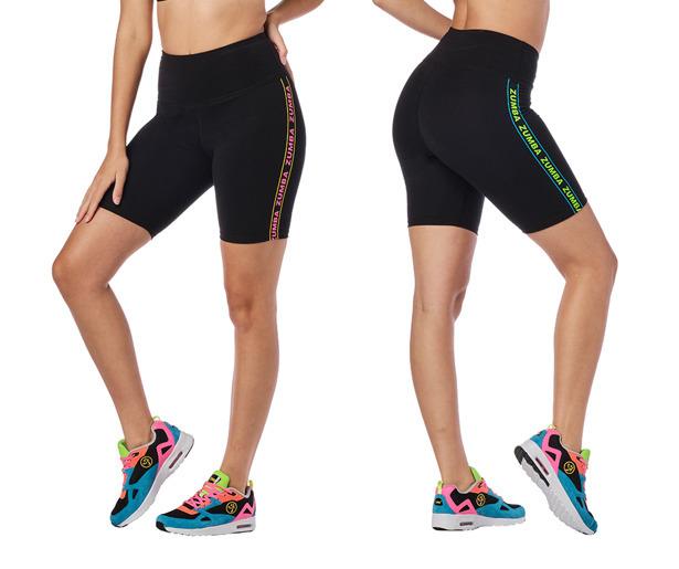Zumba Glow Biker Shorts