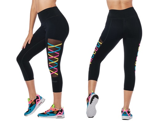 Zumba Stay Fab Crop Leggings