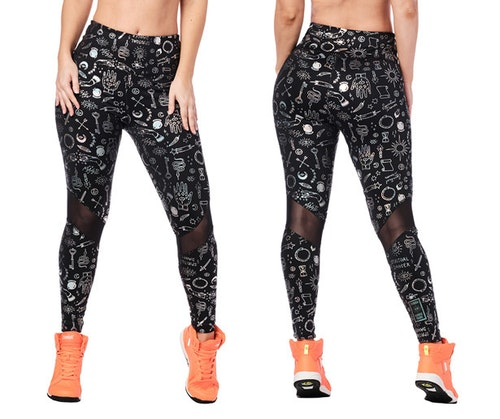 Zumba Future High Waisted Ankle Leggings