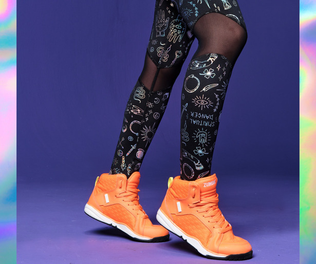 Zumba Future High Waisted Ankle Leggings