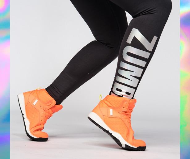 Zumba Spirit High Waisted Ankle Leggings