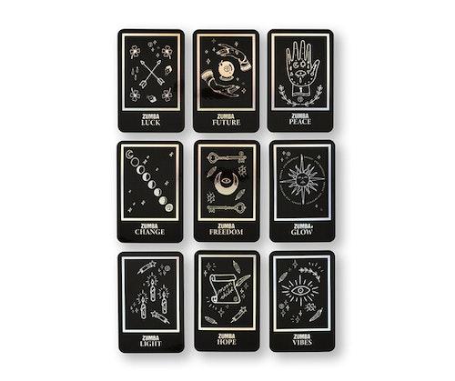 Zumba Tarot Card Stickers 9pk