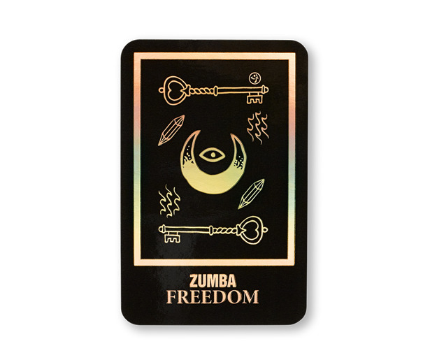 Zumba Tarot Card Stickers 9pk