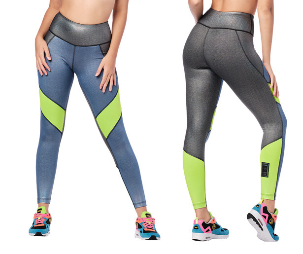 Zumba Hope High Waisted Ankle Leggings