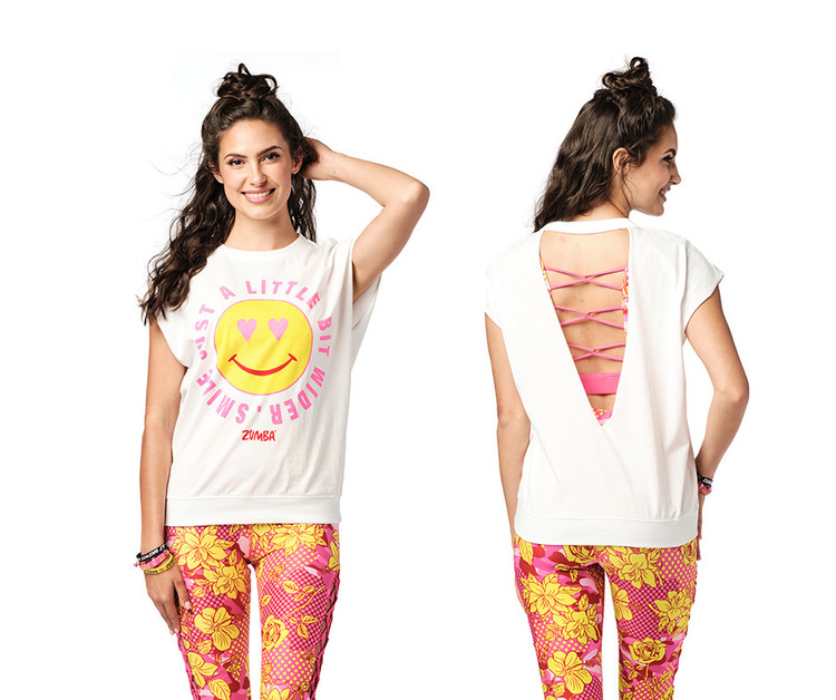 Zumba Dreamer Open Back Top