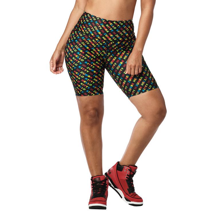 Zumba X Hello Kitty Biker Shorts