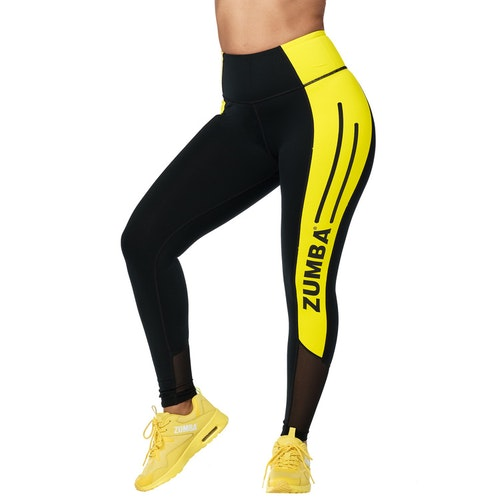 Zumba 01 High Waisted Ankle Leggings